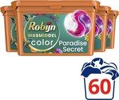 Robijn Paradise Secret 3 in 1 Wascapsules - 4 x 15 wasbeurten - Voordeelverpakking