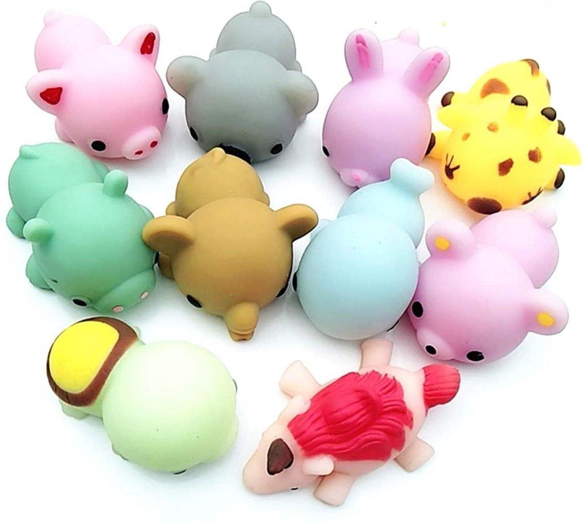 Mochi Squishy - 5x stuks | Squeezei - Fidget Toy - Pop It - Simple Dimple - Knijp poppetje - Mesh an