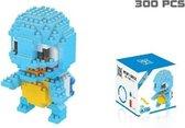 Squirtle blocks - Pokemon - 300 Stuks Squirtle - Mini Bouwstenen - 3D Puzzel - Nano block