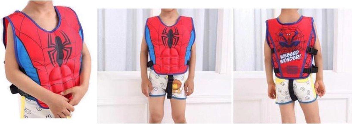 Spider Man Zwemvest - Spiderman - Veiligheidsvest - Float Jacket - Badmode - Marvel Zwemvest - Zwem Accesoires - Kinder Veiligheid - Leren Zwemmen