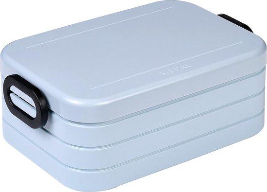 Mepal - Lunchbox Take a Break midi – Geschikt voor 4 boterhammen – Nordic...