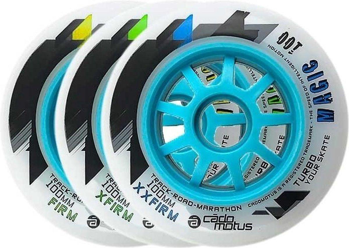 Magic 100 XXF inline skate wiel