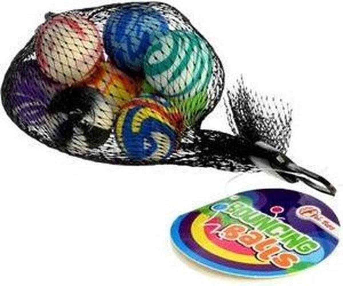 Stuiterballen - Multicolor - Set van 10
