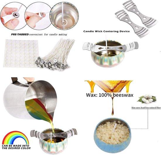 Kaarsenmakerset DIY Kaarsen handwerk gereedschap kaars maken