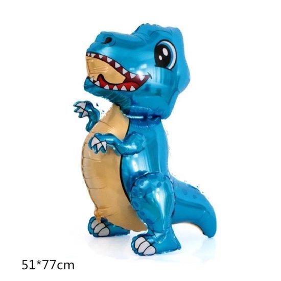 Dino ballon - Dinosaurus ballon - Dieren ballon - Grote ballon - Kinderfeest Ballonnen - T rex dinosaurus