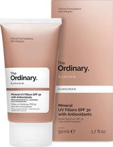 The Ordinary Mineral UV Filters SPF30 Zonnecrème - 50 ml