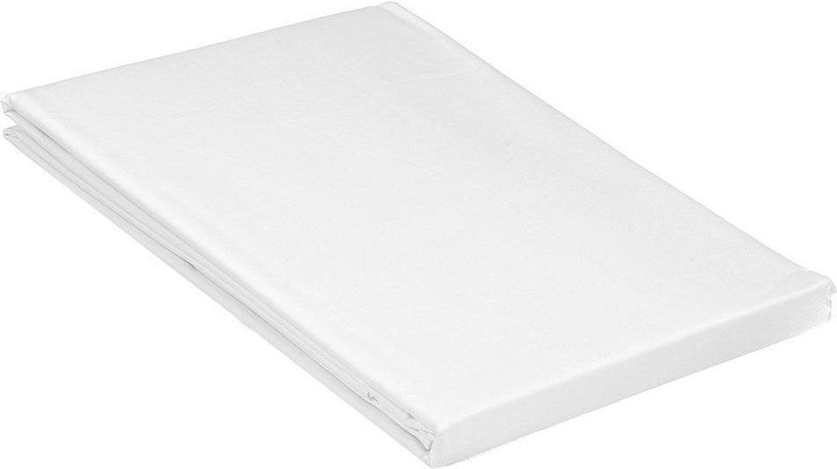 Comfortabel zacht Katoen Laken Tweepersoons -200x260 cm -Wit