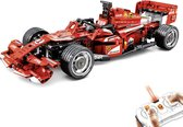 Ferrari F1 Sembo Racewagen - Auto Racing - Creator Technic Bouwpakket - 585 bouwstenen- Toy Brick Lighting