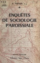 Enquêtes de sociologie paroissiale