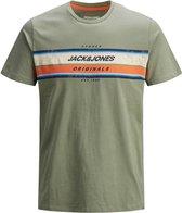 JACK&JONES ORIGINALS JORTYLER TEE SS CREW NECK STS Heren T-shirt - Maat XL
