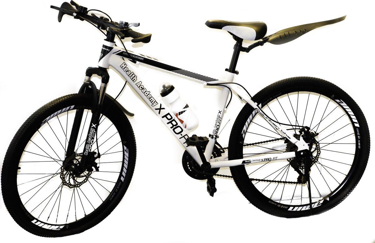 """""""Pro-Fit Tiener Mountain Bike 26"""""""" met 21 versnellingen - Wit"""""""