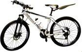 """Pro-Fit Tiener Mountain Bike 26"""" met 21 versnellingen - Wit"""