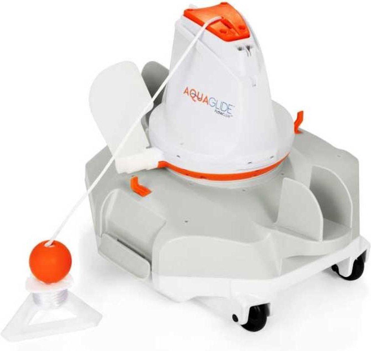 Bestway Flowclear - Aquaglide - Zwembad bodemstofzuiger robot - Oplaadbaar