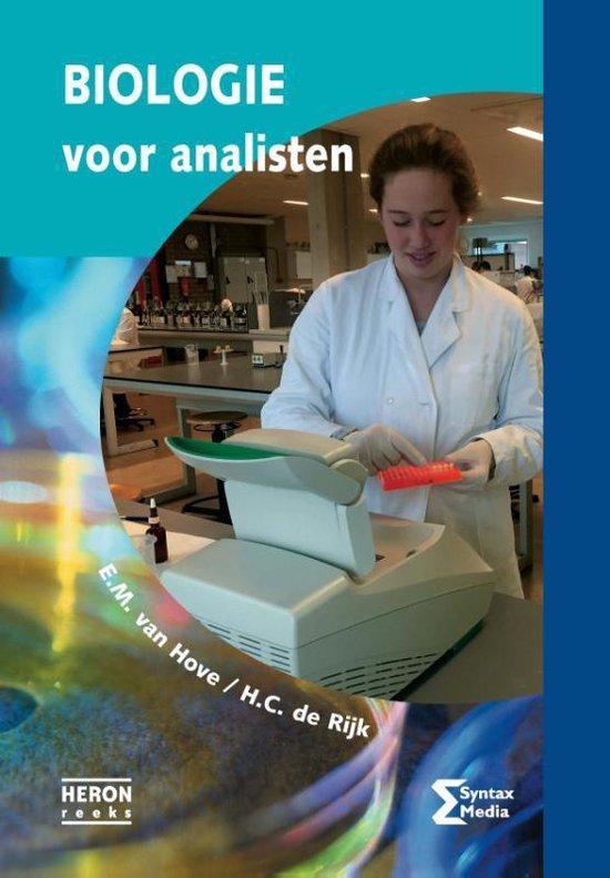 Boek cover Heron-reeks  -   Biologie voor analisten van E.M. van Hove (Paperback)