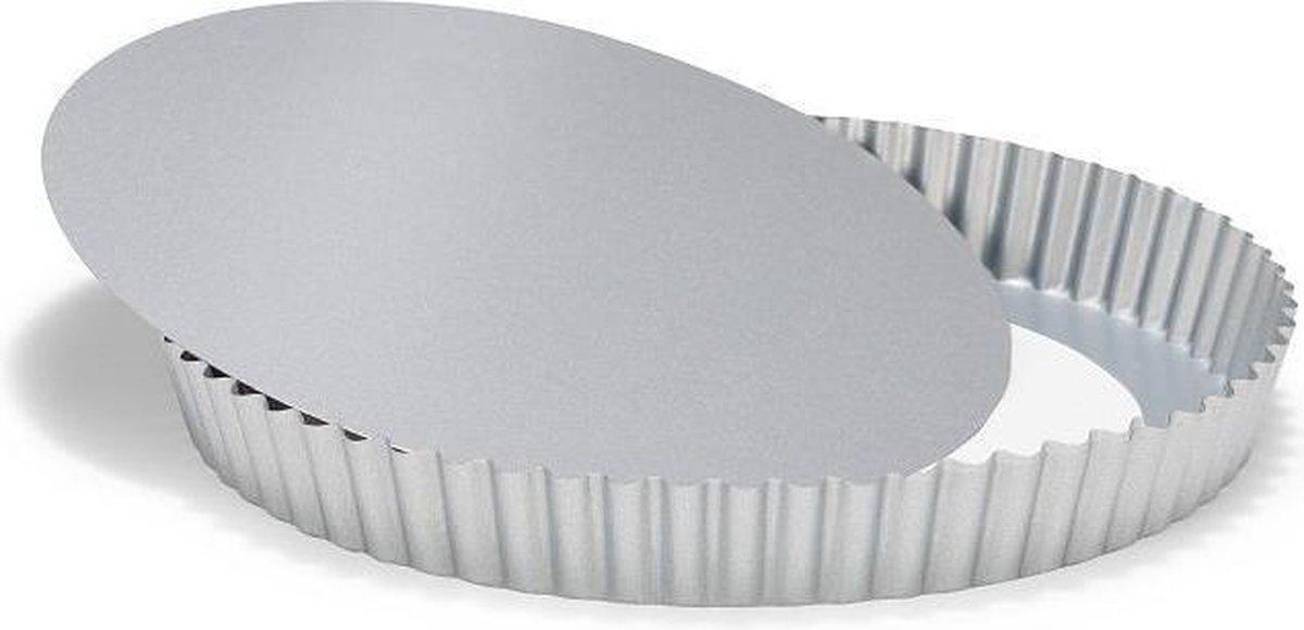Patisse Silver-Top Quichevorm - Losse Bodem - 24cm