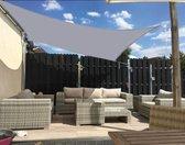Apeirom Rechthoek Sunshade Sail 4x2 UV400 WaterProof Luifel - MET BEVESTIGINGSET - 100%HDPE - Outdoor Garden - Beach - Camping Patio - Pool Canapé - Tent Sun Shelter - Grijs