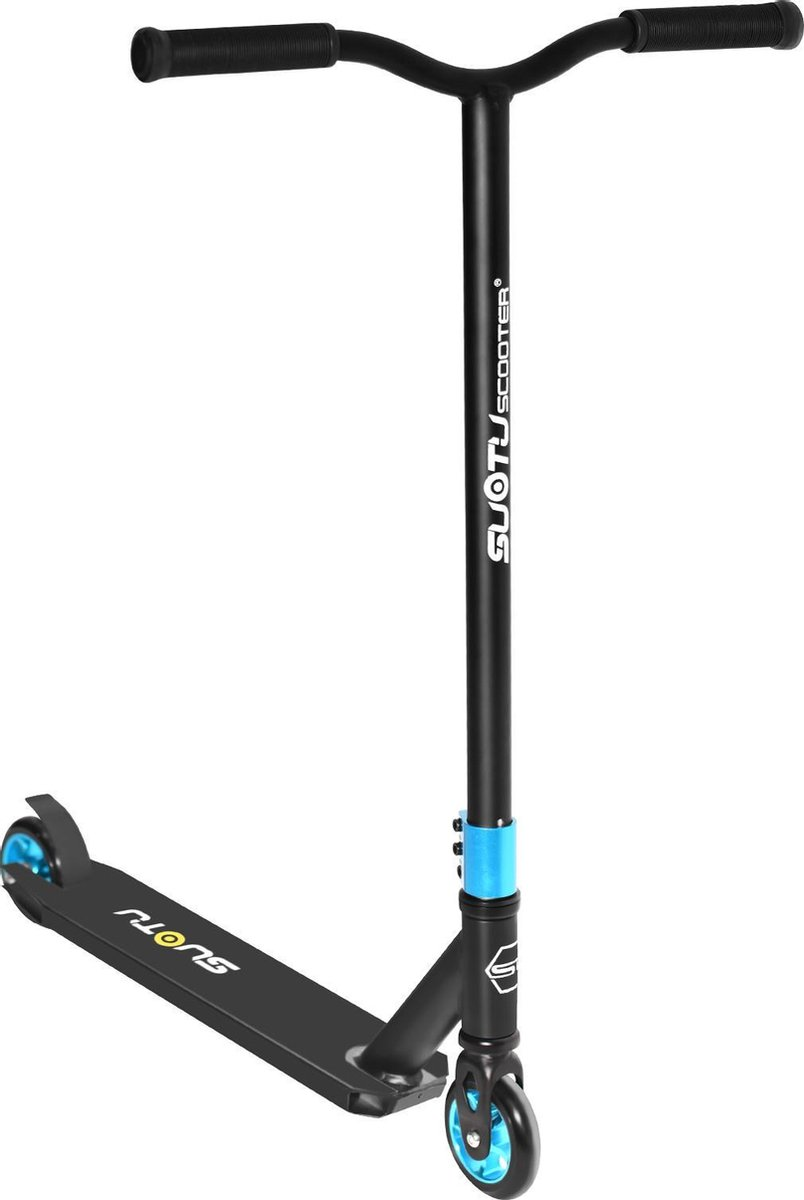 SUOTU R10 Stunt step - Step(Niet elektrisch)-Wielen 11cm-Aluminium Core-blauw