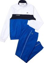 Lacoste Trainingspak - Maat XS  - Mannen - blauw/wit/navy