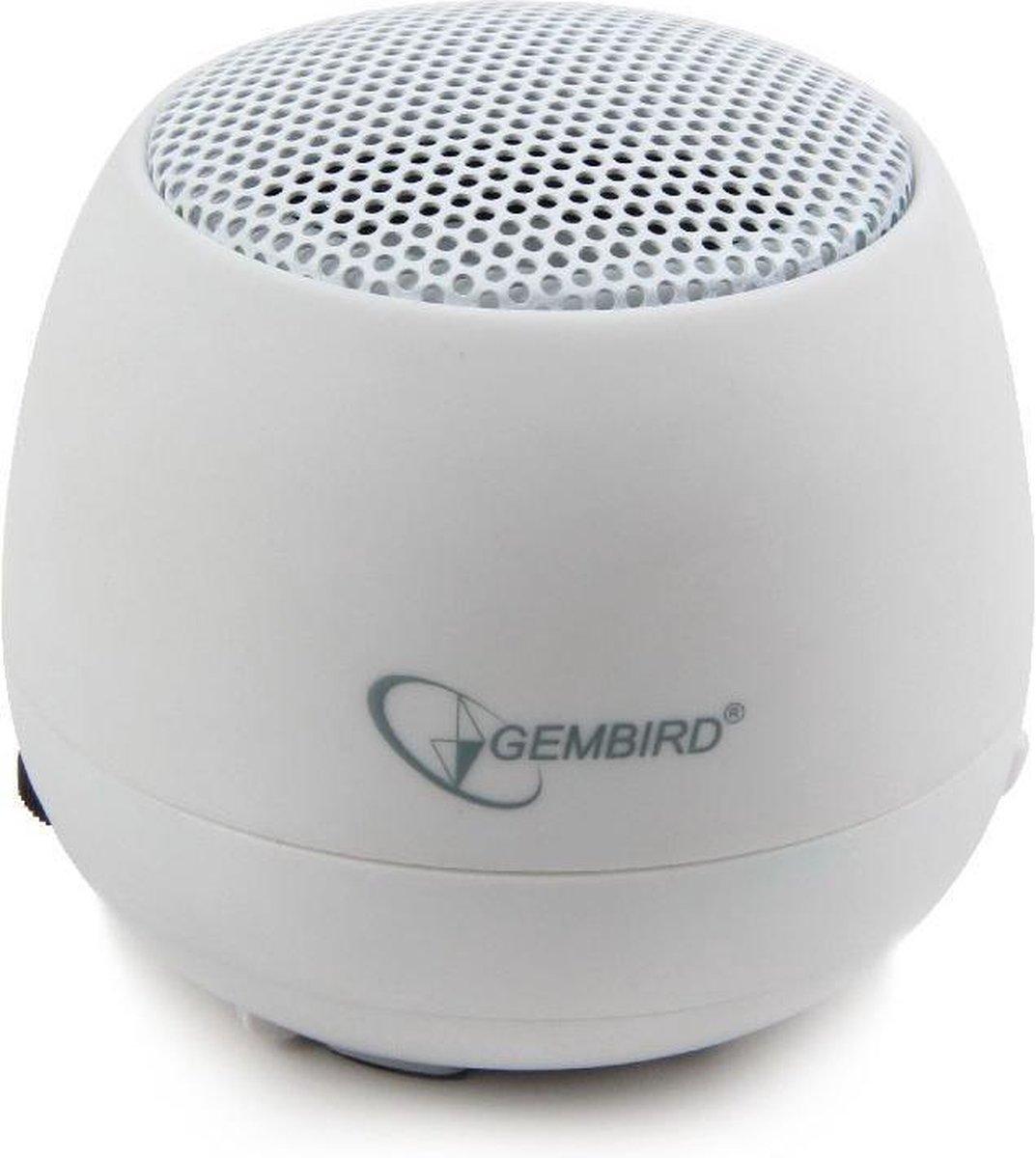 Portable speaker white