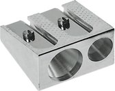 Puntenslijper Faber-Castell metaal dubbel