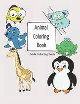Animal Coloring Book Kids Coloring Book
