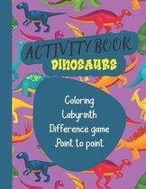 Activity book Dinosaurs