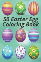 50 Easter Egg Coloring Book