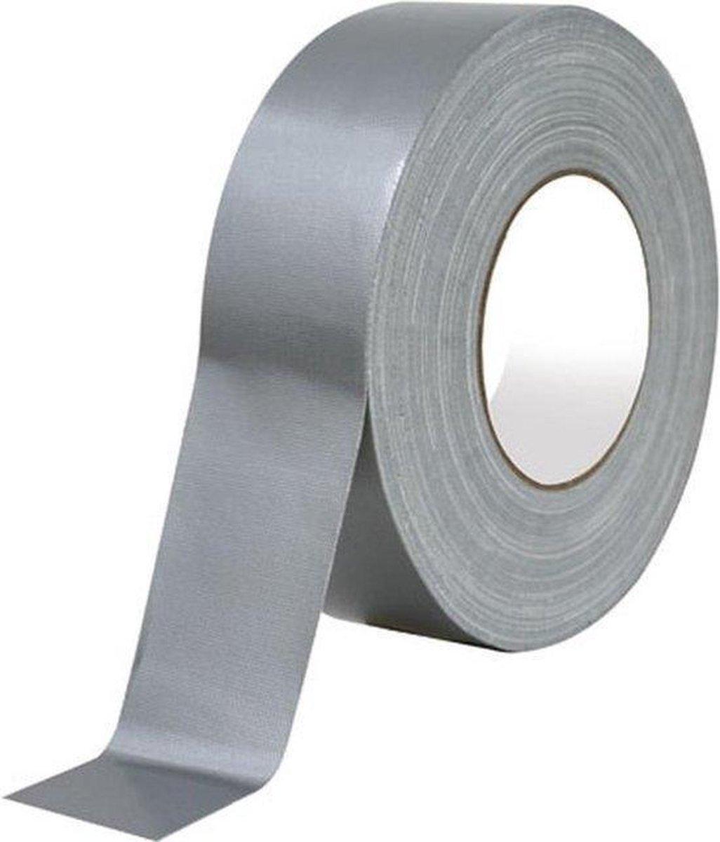 Klus & Reparatie Tape   Duct Tape   Duck Tape  Multi Purpose Tape   Waterproof  Zilver Tape   50 mm