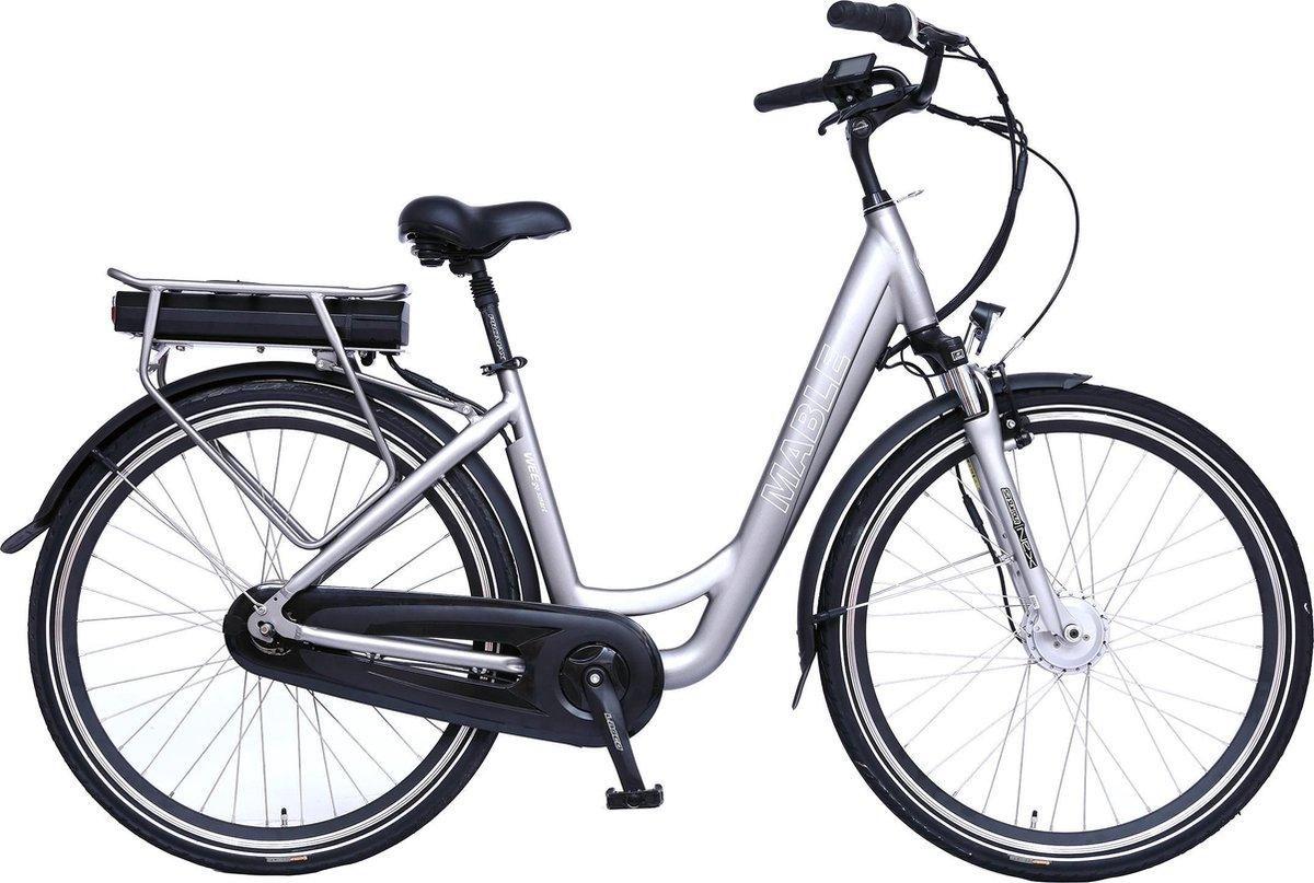 Mable e-bike met 40 Nm voorwielmotor, Shimano Nexus 7 naaf en 468 Wh accu