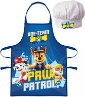 Paw Patrol - Schort - met koksmuts - Cadeau - Verjaardag
