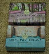 Zeep, Italiaanse zeep van Nesti Dante, 150 gr., per 2  geuren verpakt,