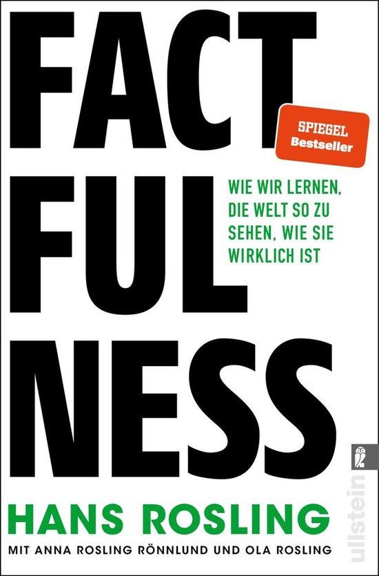 Boek cover Factfulness van Hans Rosling (Onbekend)