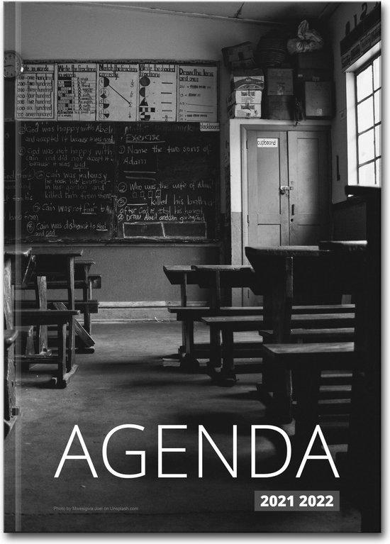 Afbeelding van Hardcover Old School - 2021-2022 - Lerarenagenda/Docentenagenda