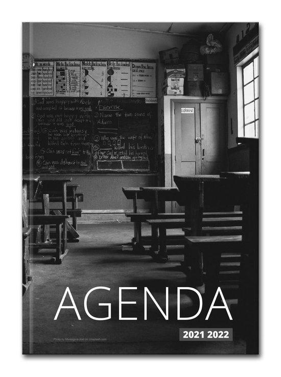 Hardcover Old School - 2021-2022 - Lerarenagenda/Docentenagenda