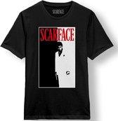 Scarface T-Shirt Zwart