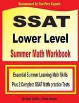 SSAT Lower Level Summer Math Workbook