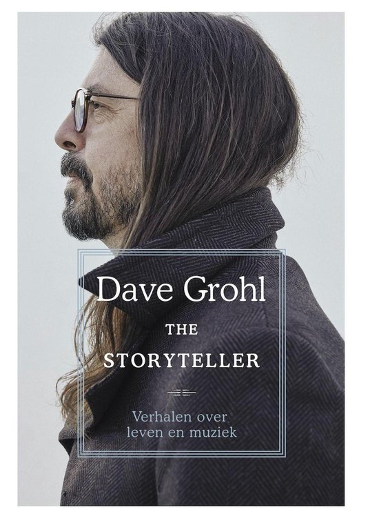 Boek cover The Storyteller van Dave Grohl (Onbekend)