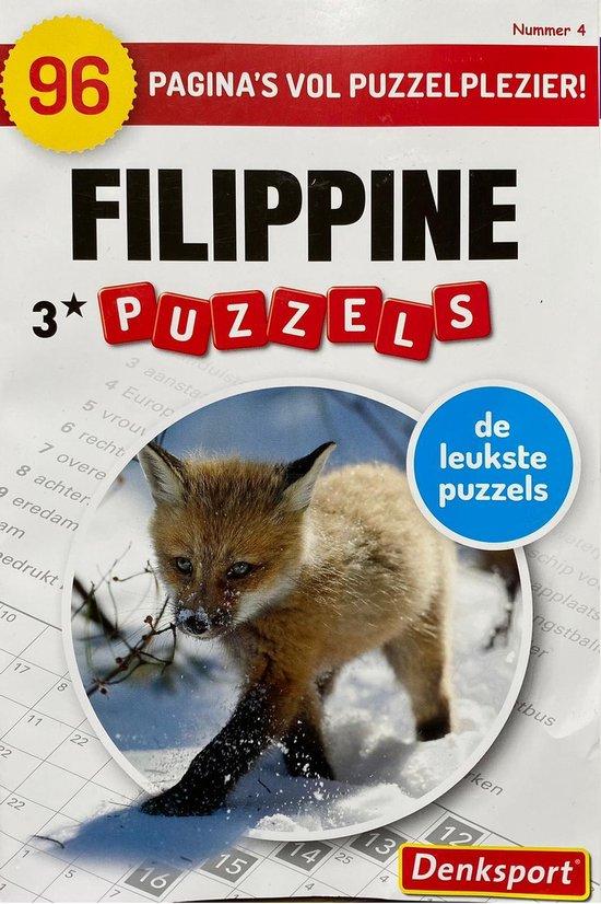 Afbeelding van Denksport | Denksport puzzelboekjes | Filippine | Filippine puzzels | Puzzelboekjes | Puzzelboeken volwassenen denksport | Puzzelboekjes | Filippines | filippine puzzelboekjes | Puzzel | Filippine puzzelboekjes 3* | 3 sterren met 192 pagina's