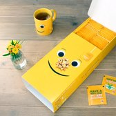 Lipton Thee Yellow Label - 42 zakjes en Theemok - Cadeauverpakking