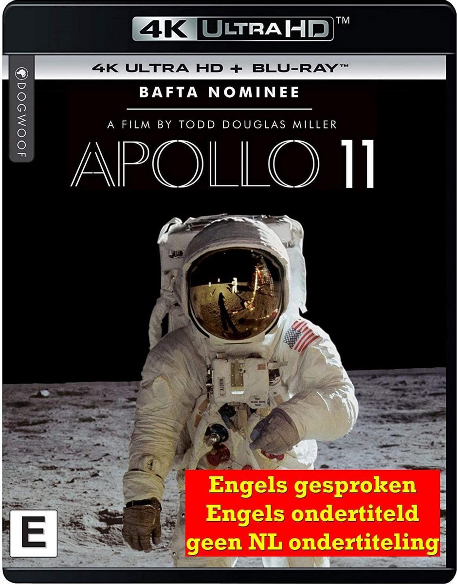 Apollo 11 - by Todd Douglas Miller [4K Ultra HD + Blu-Ray]-