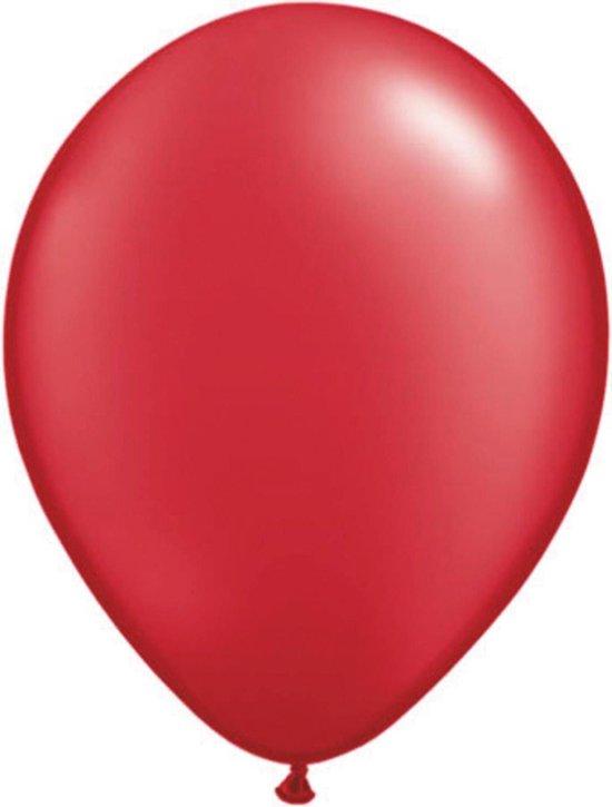 Folat Ballonnen 13 Cm Latex Rood 100 Stuks 4 Jaar