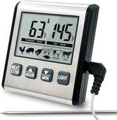 Digitale Keuken Thermometer Premium - Met Lichtfunctie + Magneet - Suikerthermometer - Bbq Thermometer - Thermometer Koken - Voedselthermometer - Kookthermometer - Suikerthermometer Digitaal - Sinterklaas - Kerst
