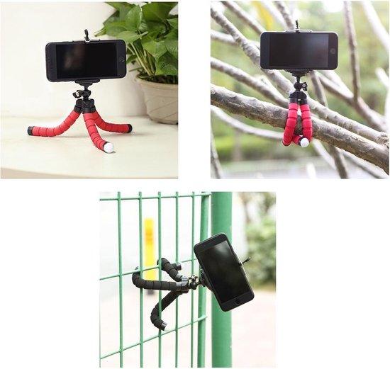 Statief Smartphone - Tripod voor Smartphone en Telefoon - 25 cm - Flexibel - Zwart