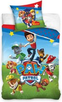 Paw Patrol Ruff Ruff Rescue Dekbedovertrek - Eenpersoons - 140x200 cm - Multi