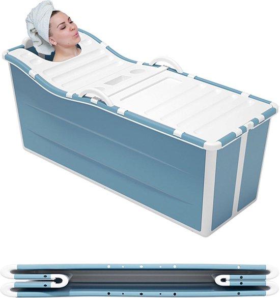 Foresta inklapbaar ligbad XL –136cm – Zitbad voor volwassenen - Bath Bucket 2.0 - plastic badkuip - Opvouwbaar bad - Bad Bucket - voor binnen & buiten - Zwembad