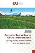 Apercu sur l'agriculture en Algerie (bref historique)