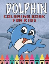 Dolphin Coloring book for kids!