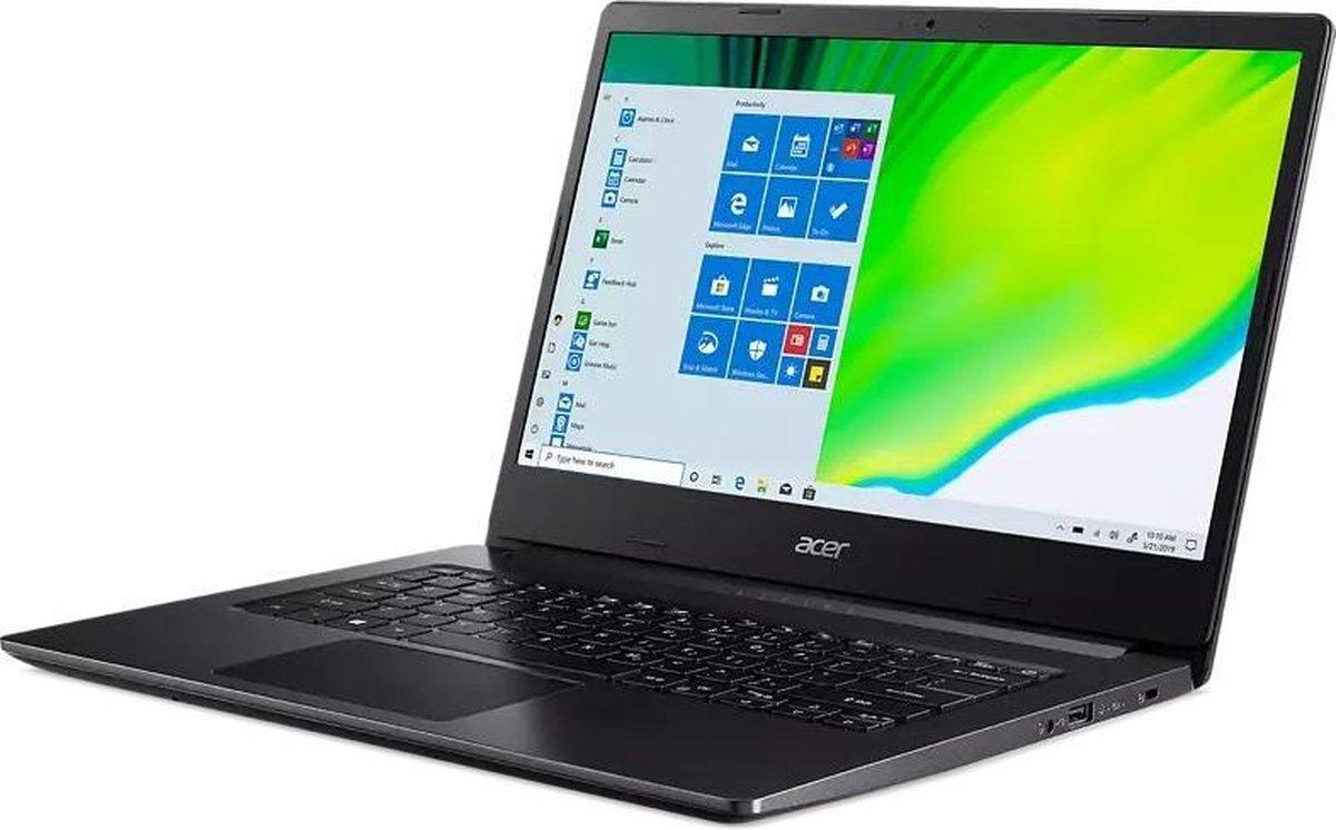 ACER Aspire 3 14 inch laptop - Ryzen 3 - 4GB RAM - 128GB SSD - inclusief 1 jaar Office 365 Personal! (Word, Excel, Powerpoint, Outlook, 1TB OneDrive cloud opslag)