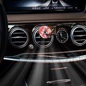 Auto Luchtverfrisser - Met 3 vervangings platen -   Draaitafel - Auto Verfrisser - Retro - Platenspeler