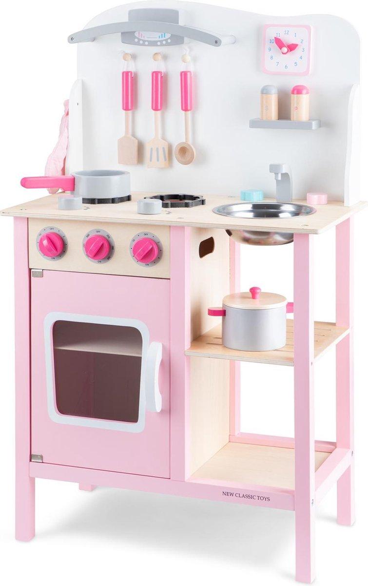 New Classic Toys Kinderkeuken Bon Appetit Roze